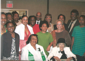 ipl_2009_business_awards_luncheon_Soror_Esther_Golden_and_Family